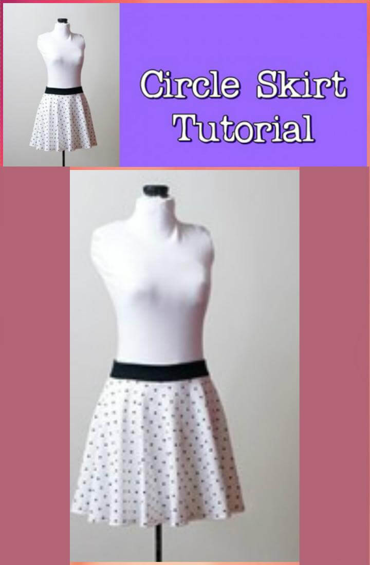 DIY circle skirt video tutorial