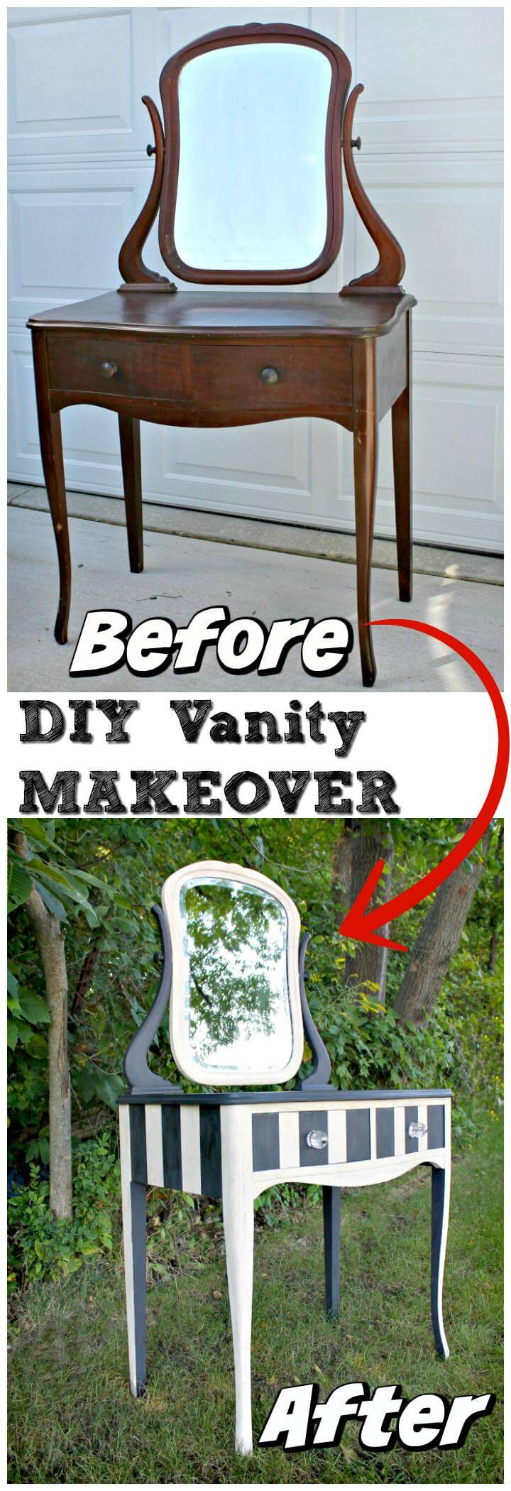 20 Diy Makeup Vanity Tutorials Diy Your Own Makeup