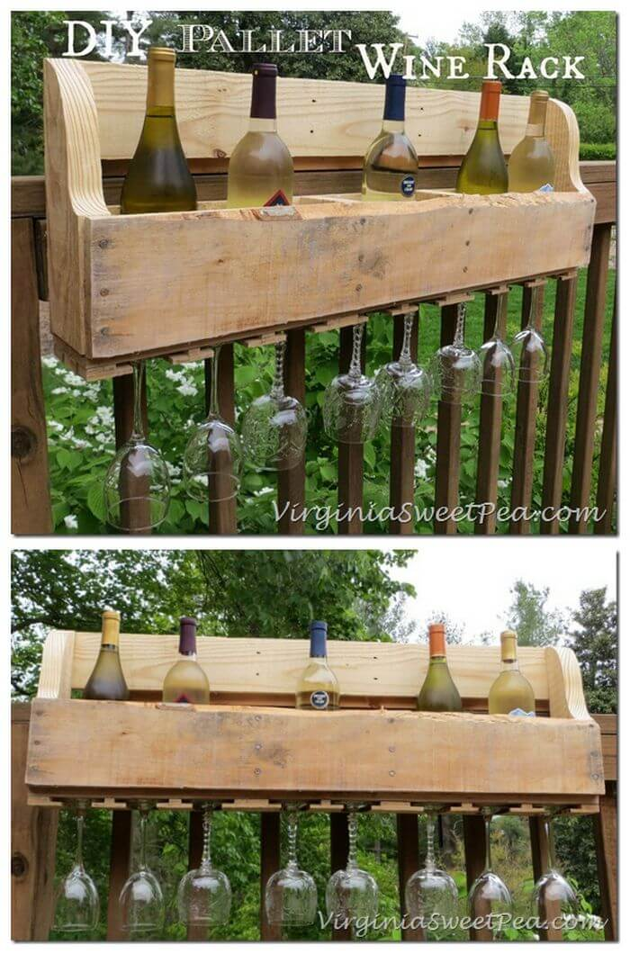 pallet furniture ideas with 25 complete diy projects page 3 of 3 i heart crafty. Black Bedroom Furniture Sets. Home Design Ideas